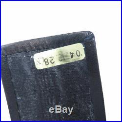 CHANEL key holder COCO Mark Caviar skin