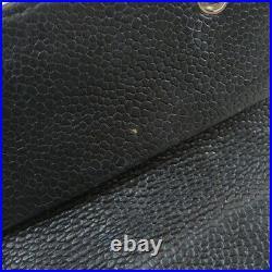 CHANEL key holder Logo motif Leather