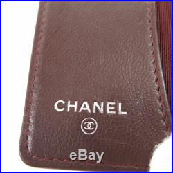 CHANEL key holder Matelasse COCO Mark SilverHardware Lambskin