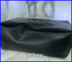 COACH 78218 Signature Chain Central Leather Tote Black $375 NEW