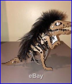 COACH PUNK REXY Dinosaur Bag Charm Keychain XL 58704 SUPER RARE LIMITED EDITION