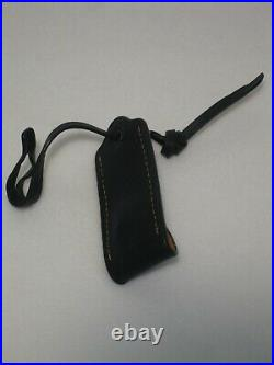 COACH ROGUE 1941 1-LEATHER HANG TAG and 1-KEY FOB BLACK SET 1941 NWOT