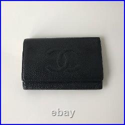 Chanel Caviar 6 Keys Holder