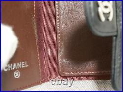 Chanel Matelasse Key Case Holder Black Lambskin Authentic #4471P