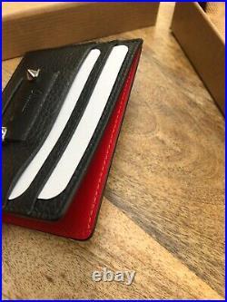 Christian Louboutin Black Kios Cardholder New