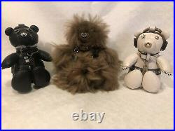 Coach Bear Star Wars Leather Darth Vader Keychain Bag Charm F88049 New With Tags