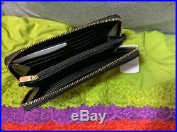 Coach Chelsea Khaki & Black SIG Rose Zip Clutch Key Chain Snap Tote & Shopper