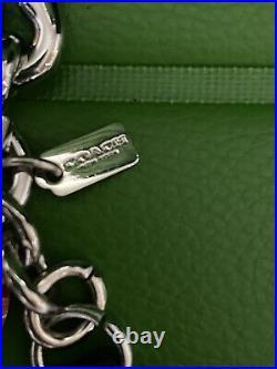 Coach X Snoopy Peanuts Leather Keychain & Heart