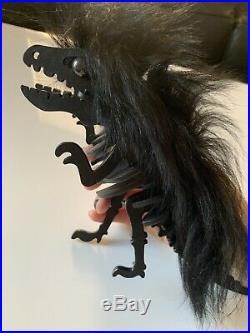 Coach XL Long Hair Mohawk Rexy Bag Charm