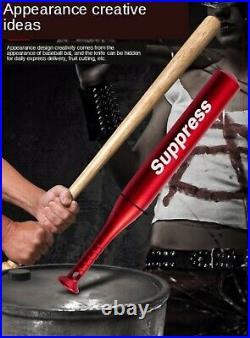 Creative Baseball Knife Keychain Outdoor Survival EDC Neck Knife Fixed Blade