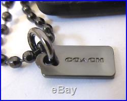 DISNEY X COACH MICKEY HANG TAG Key Chain SET & DISNEY BOX NWT Limited Edition