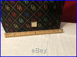 DOONEY & BOURKE Beautiful Signature Purse withLeather Wallet, Make up & Key Chain