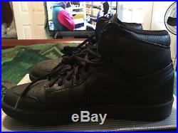 DS 2001 Nike Air Jordan 1 addition blackout size 8.5 with og box NO keychain