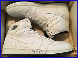 DS 2001 Nike Air Jordan 1 addition white/navy size 8.5 with og box NO keychain