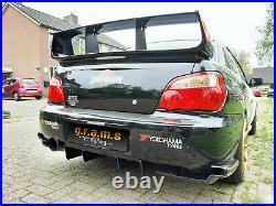 Diffuser / Undertray to fit Subaru Impreza STI WRX, Varis Style for Racing v8