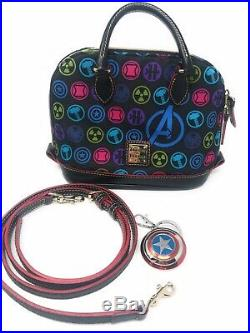 Disney Dooney Avengers Marvel Bitsy Bag with keychain