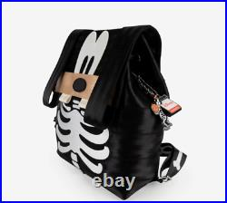 Disney Harvey's Goofy Backpack / Skeleton withKey Chain NWT