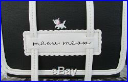 Disney Loungefly Aristocats Marie Meow Crossbody Purse Cardholder Keychain! NWT