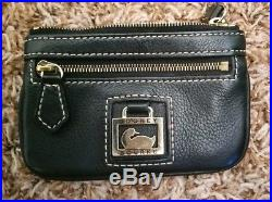 Dooney bourke handbags black, vintage black pebble wallet, leather key chain