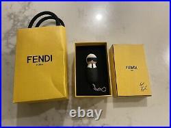 FENDI Bag Charm KeyChain USB Drive Black Karl Lagerfeld Limited Collectors