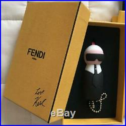 FENDI Bag Charm KeyChain USB Drive Black Karl Lagerfeld Limited Non-sold Gift