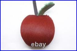FENDI Monster Charm Bag Bugs Key Chain with Box Black x red x green F/S