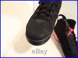 FREE KEYCHAIN Air Jordan 6 Black Infrared Size 10.5 #4331 384664 023