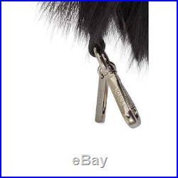 Fendi Bag Bug Charm in Black Fur 7AR386-X4Q
