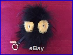 Fendi Charm new with tags, bag and box real mink for handbags, luggage, keys