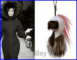Fendi Karl Lagerfeld Karlito Keychain/charm Large Authentic