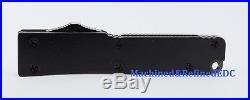 Firecracker mini keychain knife(Matte Black) CA Legal