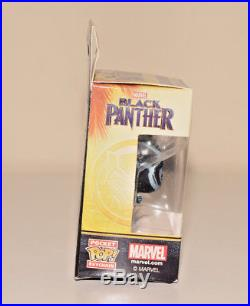 Funko Black Panther Blue Glow Pocket POP Keychain Movie Vinyl Figure NEW