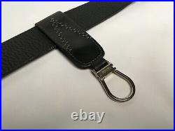 GIANNI VERSACE VINTAGE'90s GENUINE LEATHER METAL ATTACHABLE KEY CHAIN LOGO