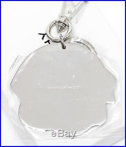 GIVENCHY Key Chain Bag Charm ROTTWEILER Keyring Silver HW Ltd Edition NIB