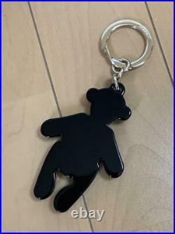 GUCCI Teddy Bear Swarovski Crystal Keychain Ring Key chain Keyring Box