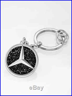 Genuine Mercedes Benz Key Ring Saint-Tropez with Swarovski crystals