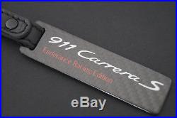 Genuine Porsche Design 911 Carrera S Limited CARBON EDITION Key Chain Black
