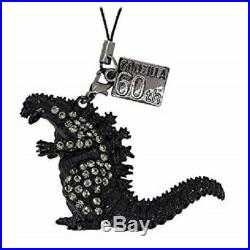 Godzilla 60th KIRAKIRA G key chain Crystal & Black diamond & Colorado Topaz SET