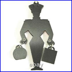 Gucci Authentic Porter Keyring Key Chain Holder Black Red Bag Charm Unisex withBox