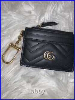 Gucci GG Marmont Keychain Wallet