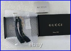 Gucci Leather Tassel Keychain For Women. Brand New, original