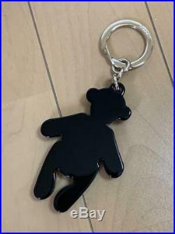 Gucci teddy bear Swarovski rhinestone crystal key chain new