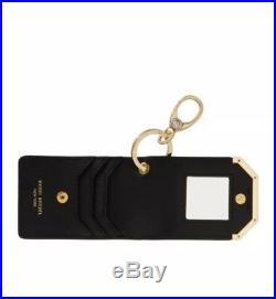 Henri Bendel CARDS AND KEYS HOLDER Black Nwt