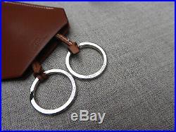 Hermes Clochette Nwot Barenia Necklace Key Chain Holder