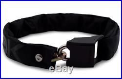 Hiplok ORIGINAL V1.5 WEARABLE BIKE CHAIN LOCK 8mmx90cm+3Keys, Waist 24-44 BLACK