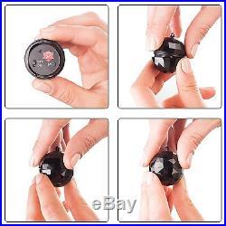 Ingeniously camouflaged spy gadget Black Ball Keychain Spy Voice Recorder Sound