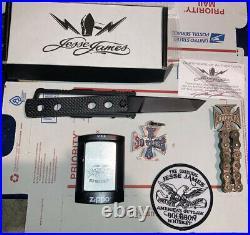 Jesse James Nomad Knife JJKC2b ++WCC Zippo, 30 Anniversary Year Key Chain, +MORE