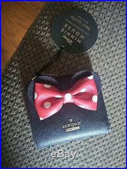KATE SPADE x DISNEY MINNIE MOUSE bookbag, mini wallet and keys chain
