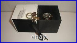 Kate Spade 1YRU0772 Black Ceramic Women Watch withFREE Key Chain NWT
