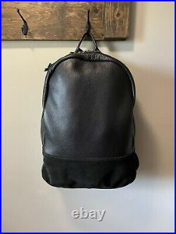 Killspencer Daypack Black Leather And Snaphook Keychain